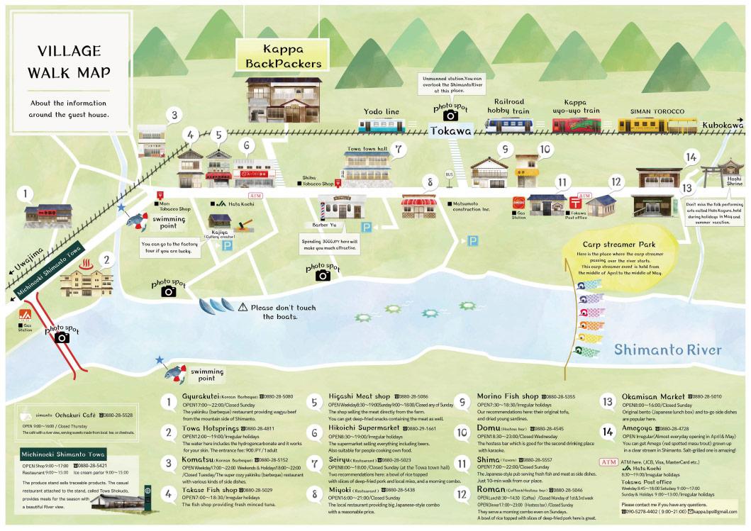 village walk map